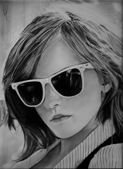 Emma Watson por dnieltsk